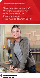 Frauen gründen anders 2014 in Köln